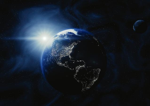 Terra e o Sol (imagem referencial)