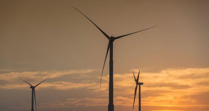 Usina de Energia Eólica (UEE) em Icaraí, no Ceará (CE).