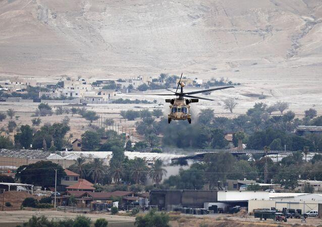 Helicóptero da Força Aérea de Israel