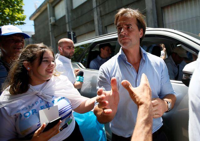 Luis Lacalle Pou, candidato presidencial uruguai