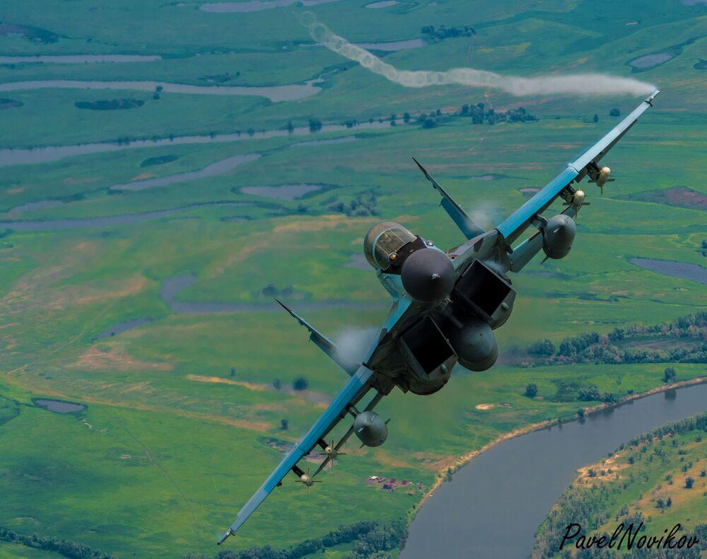 Caça polivalente de quarta geração MiG-29K, da aviação embarcada