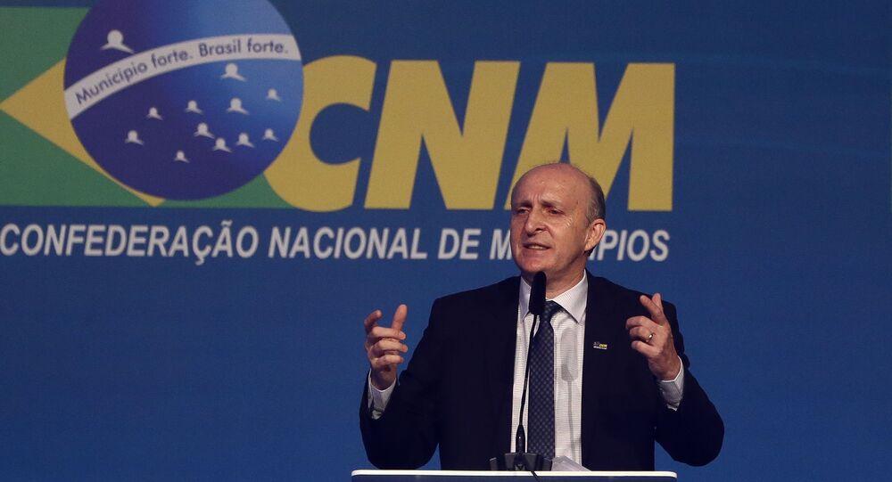 O presidente da CNM (Confederação Nacional dos Municípios), Glademir Aroldi