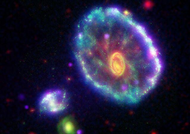 Galáxia Cartwheel