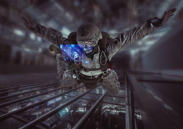 Soldado ciborgue (imagem refrencial)