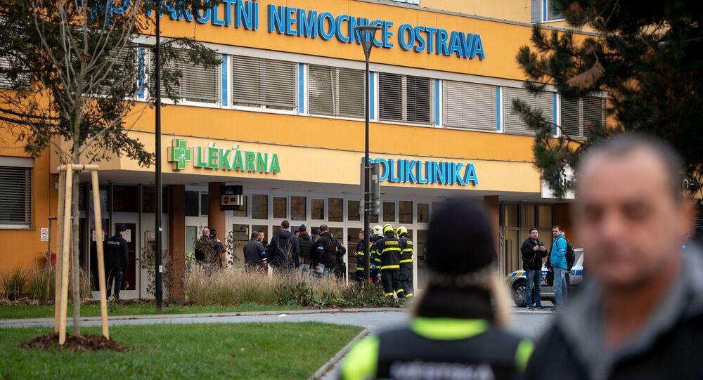 Hospital na cidade tcheca de Ostrava, no qual homem efetuou disparos e matou seis pessoas