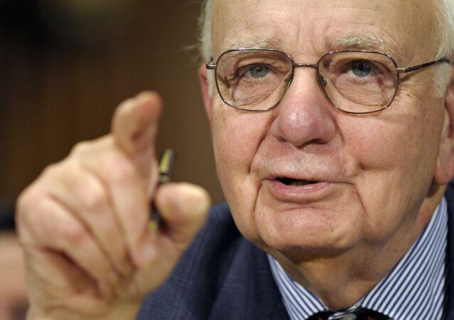 Paul Volcker, ex-presidente da Reserva Federal dos EUA