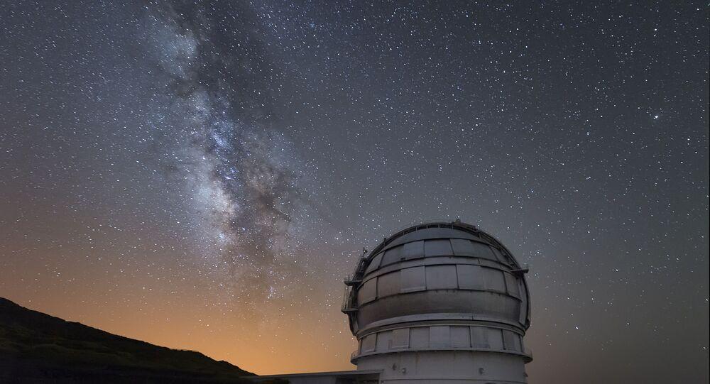 Observatório de los Muchachos, na ilha de La Palma, nas Canárias, na Espanha (foto de arquivo)