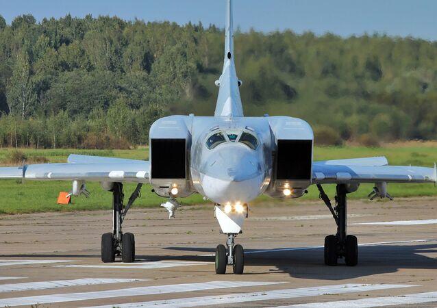 Bombardeiro supersônico Tu-22M3 (foto de arquivo)