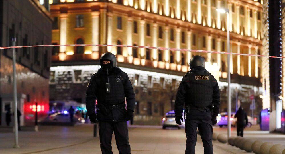 Um atirador abriu fogo no centro de Moscou perto do prédio do Serviço Federal de Segurança da Rússia (FSB) na quinta-feira (19).