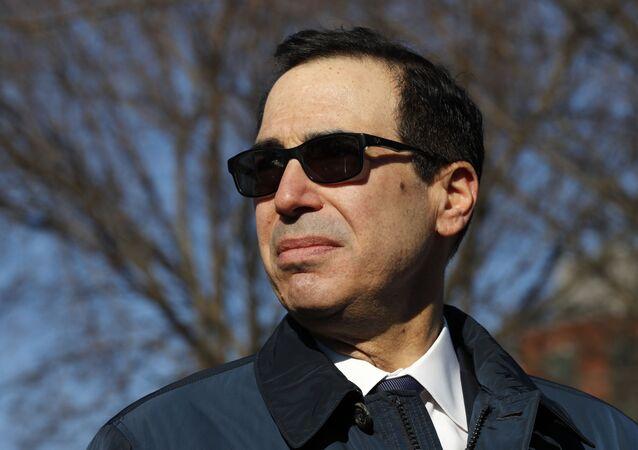 Secretário do Tesouro dos EUA, Steven Mnuchin