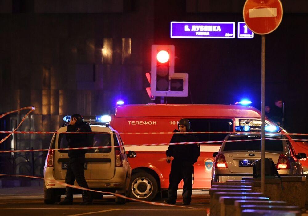 Forças policiais realizam operação no centro de Moscou após tiroteio