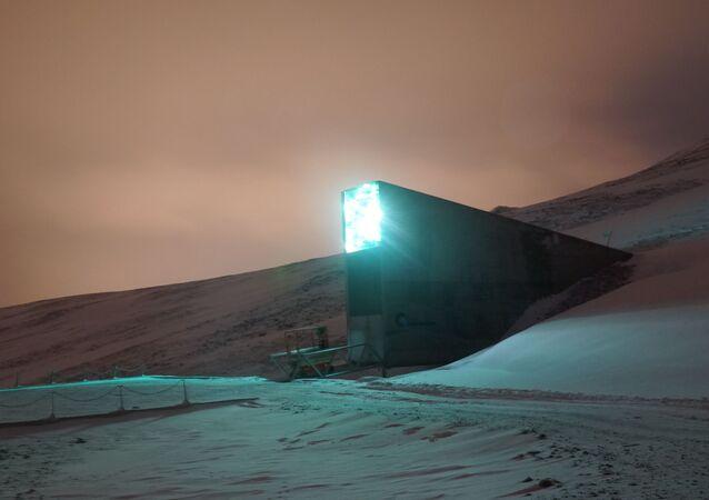 'Bunker do apocalipse' guarda em segurança sementes do mundo inteiro na ilha norueguesa de Spitsbergen