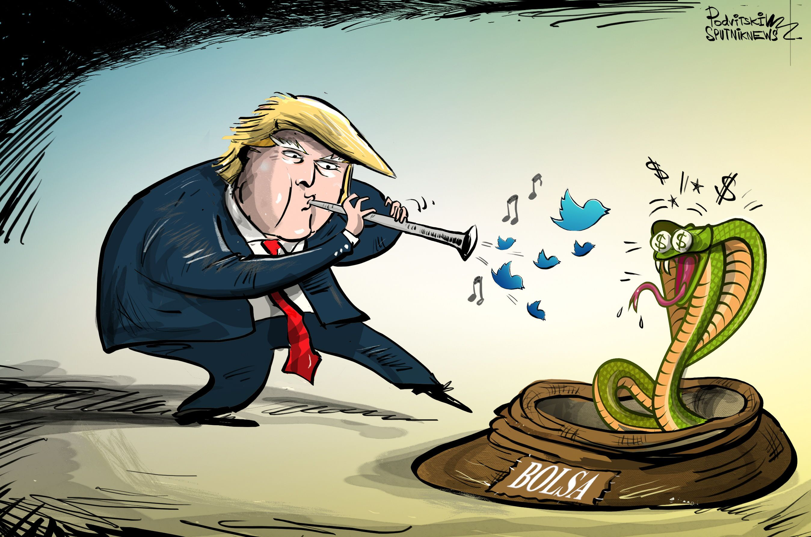 Essa música deliciosa de Trump