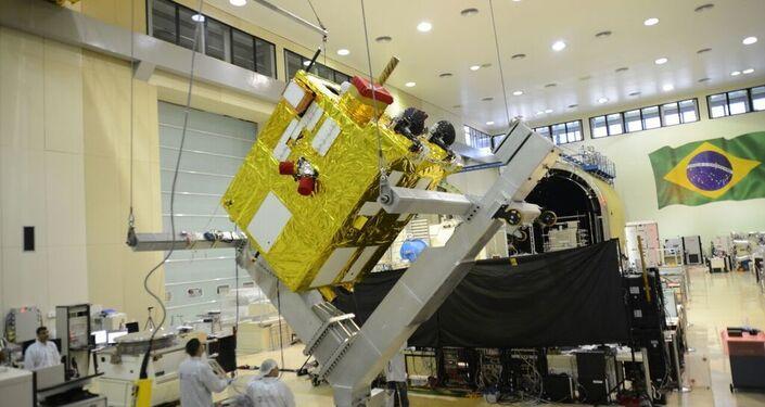 Preparativos para o lançamento do satélite CBERS-4A