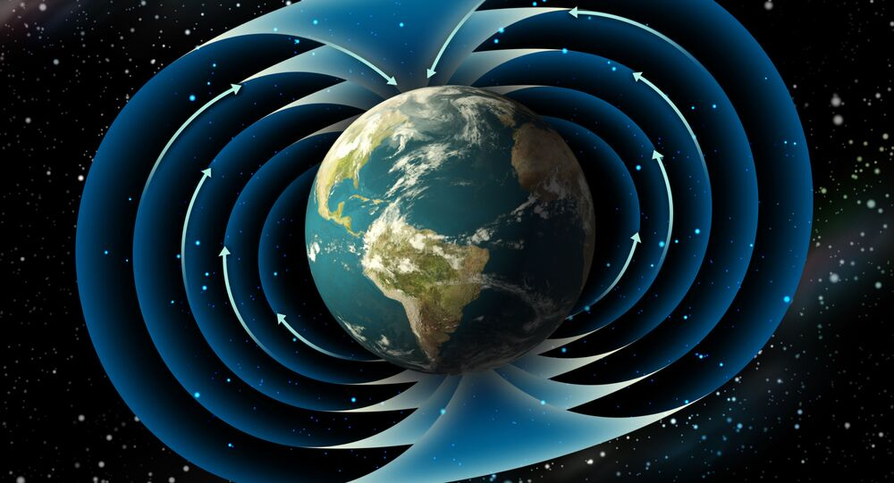 Polos magnéticos da Terra
