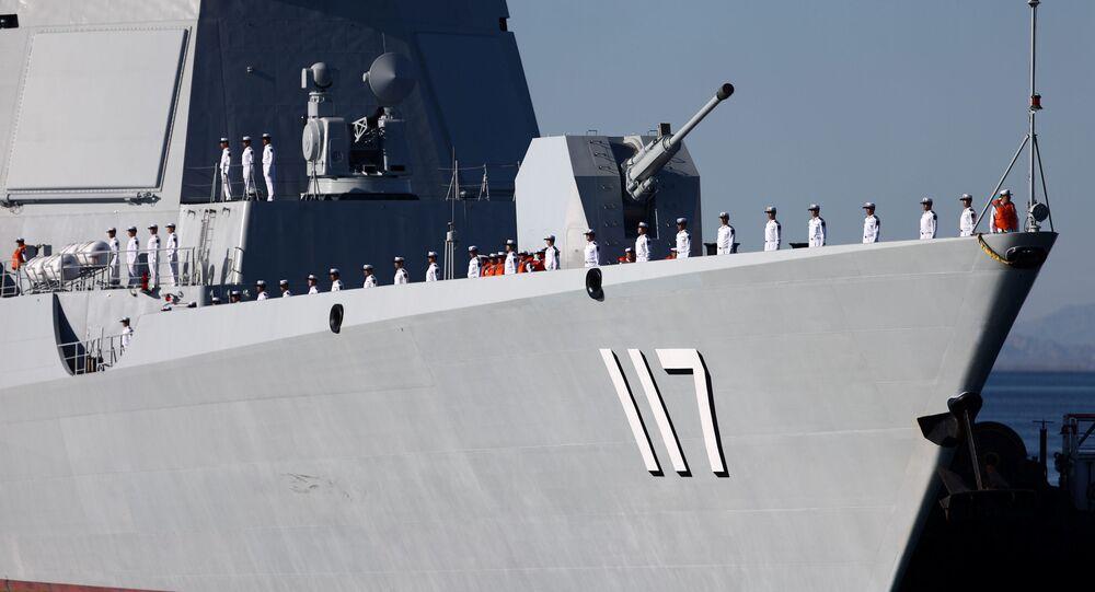 Marinheiros chineses chegam ao porto de Chahbahar para exercícios conjuntos com o Irã e a Rússia
