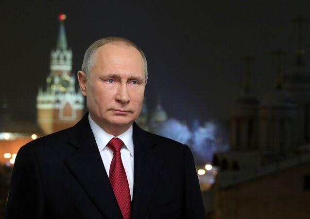 Presidente da Rússia, Vladimir Putin (foto de arquivo)
