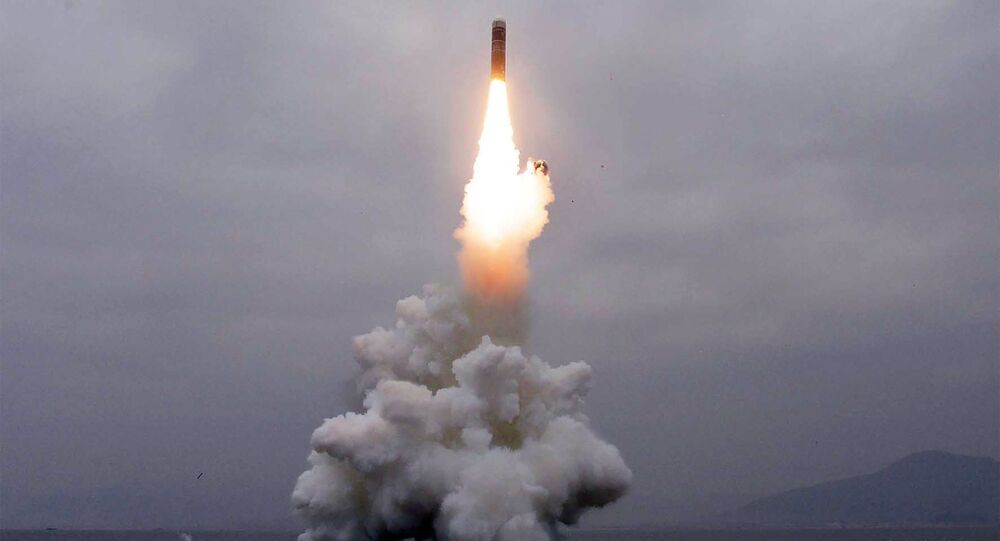 Lançamento do míssil balístico Pukguksong-3 da Coreia do Norte, 2 de outubro de 2019