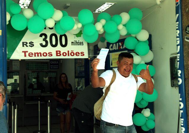 Movimentação em loteria de São Paulo (SP) no dia 31 de dezembro para Mega da Virada