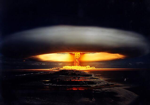 Explosão de bomba atômica (foto de arquivo)