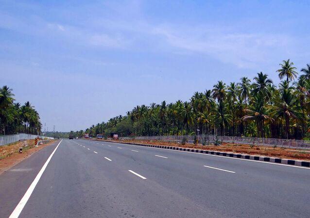 Estrada na Índia