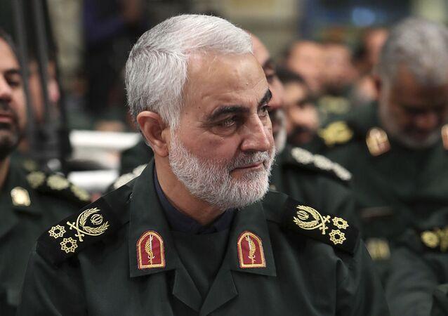 Qassem Soleimani, major-general da Força Al Quds da Guarda Revolucionária Iraniana, em foto feita em Teerã, no Irã, em outubro de 2019.