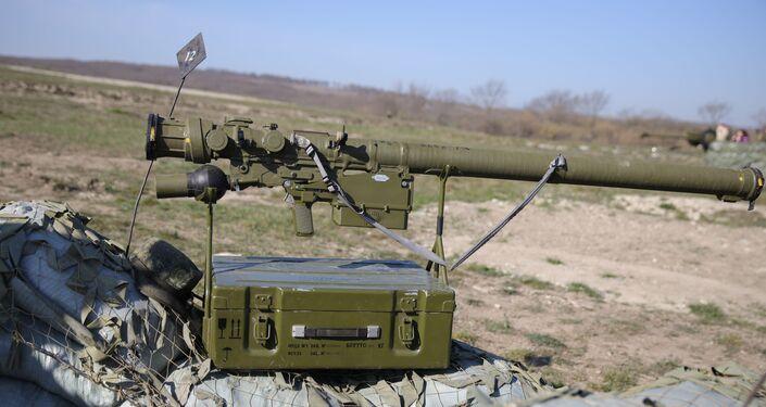 Sistema portátil de mísseis antiaéreos Verba