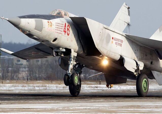 Caça soviético MiG-25