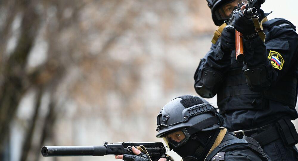 Forças Especiais da Rússia (foto de arquivo)
