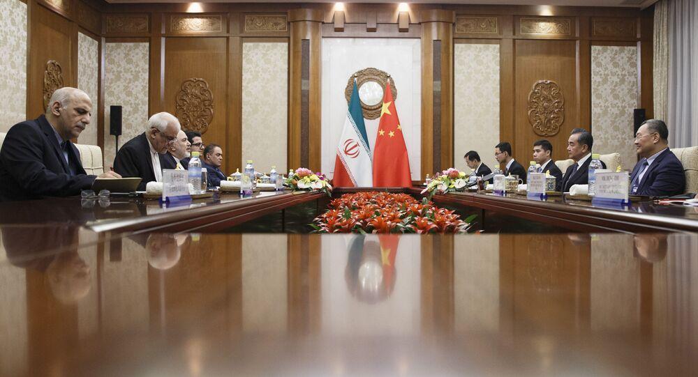 Reunião entre os ministros de Relações Exteriores da China em Irã (imagem referencial)