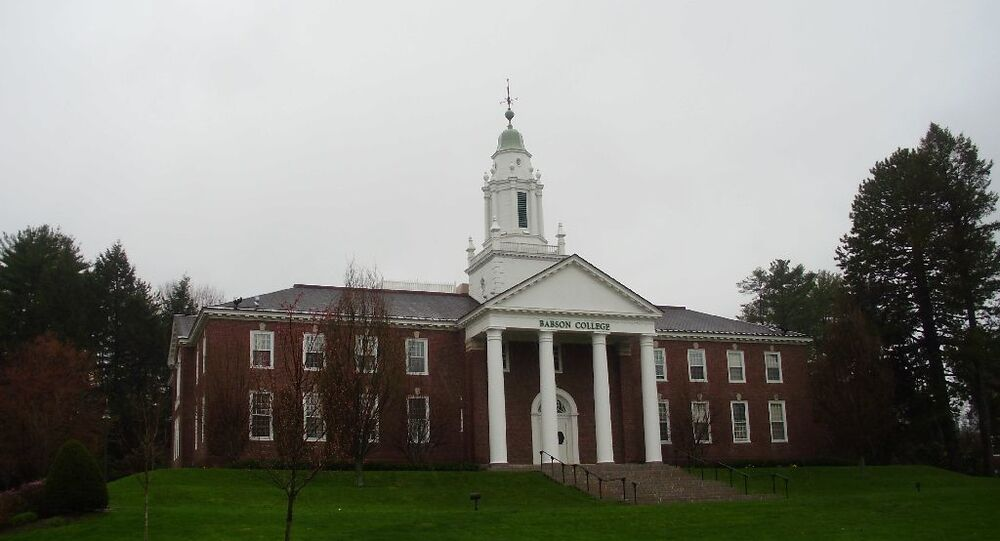 Faculdade de Babson, em Massachussetts, nos EUA (foto de arquivo)