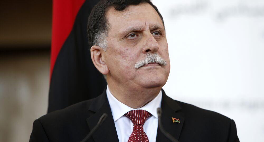 Fayez Sarraj, primeiro-ministro do Governo do Acordo Nacional da Líbia (arquivo)