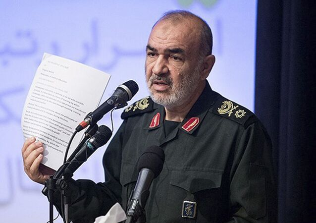 Chefe da Guarda Revolucionária, major-general Hossein Salami (foto de arquivo)