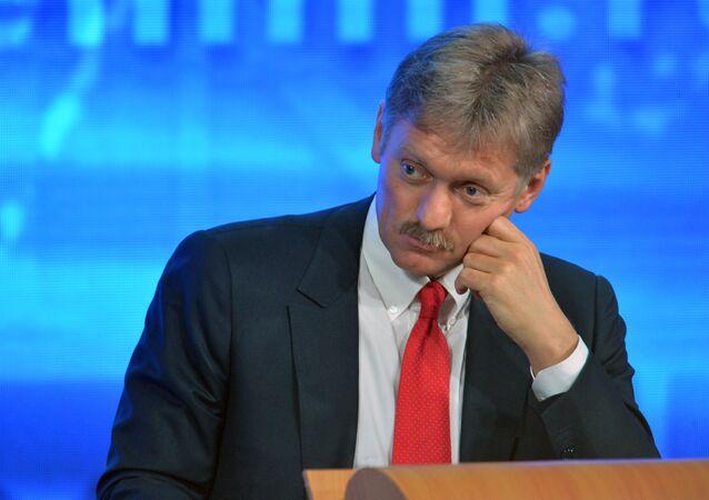 Dmitry Peskov, assessor de imprensa do presidente russo