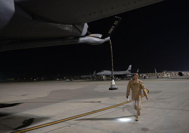 Base aérea norte-americana
