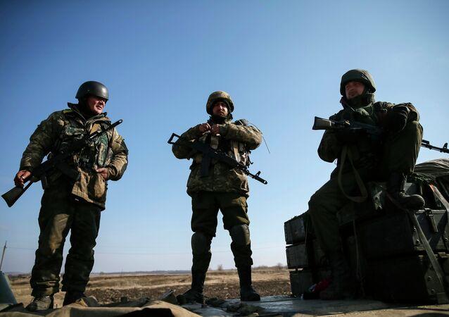 Militares ucranianos (foto de arquivo)
