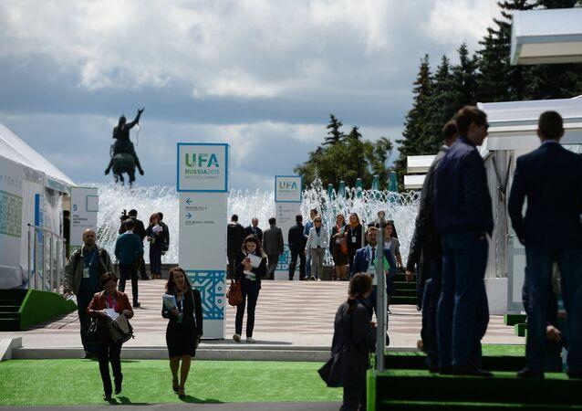 Cúpula do BRICS em Ufá