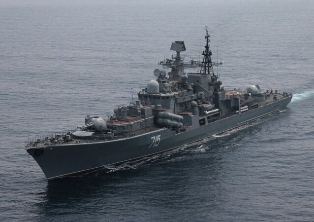 Navio Bystry da marinha russa