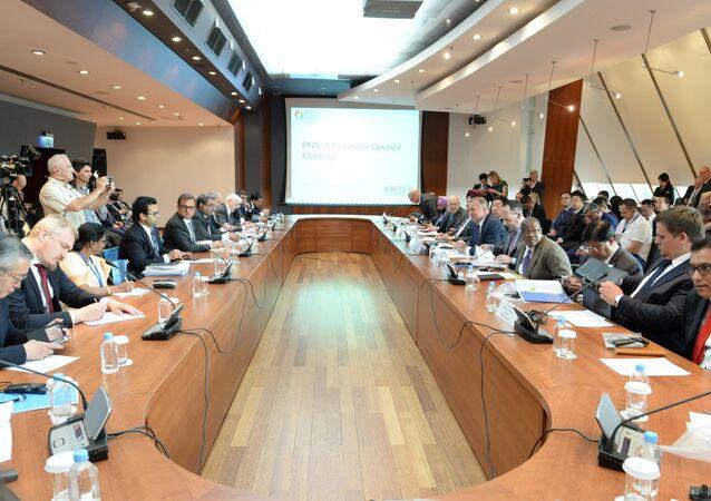 Reunião do Conselho de Negócios do BRICS