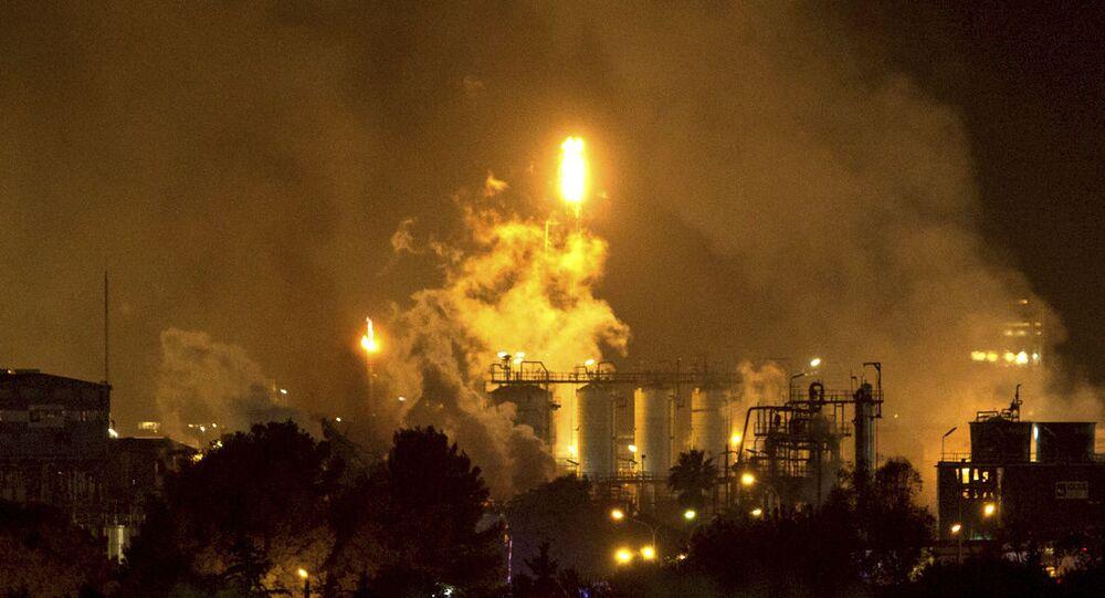 Explosão em uma fábrica na cidade de Tarragona, na Espanha (imagem referencial)