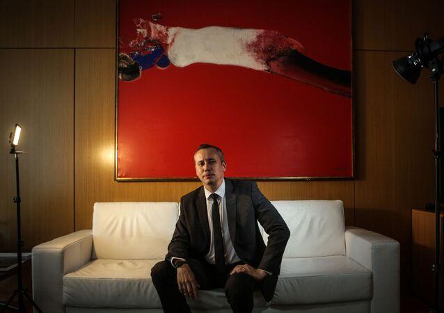 Roberto Alvim, dramaturgo e ex-secretário da cultura da gestão Bolsonaro