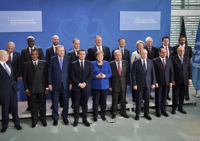 Líderes mundiais participam da Conferência de Paz na Alemanha sobre a Líbia