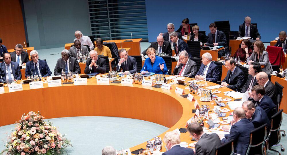 Conferência sobre a Líbia em Berlim, Alemanha, 19 de janeiro de 2020