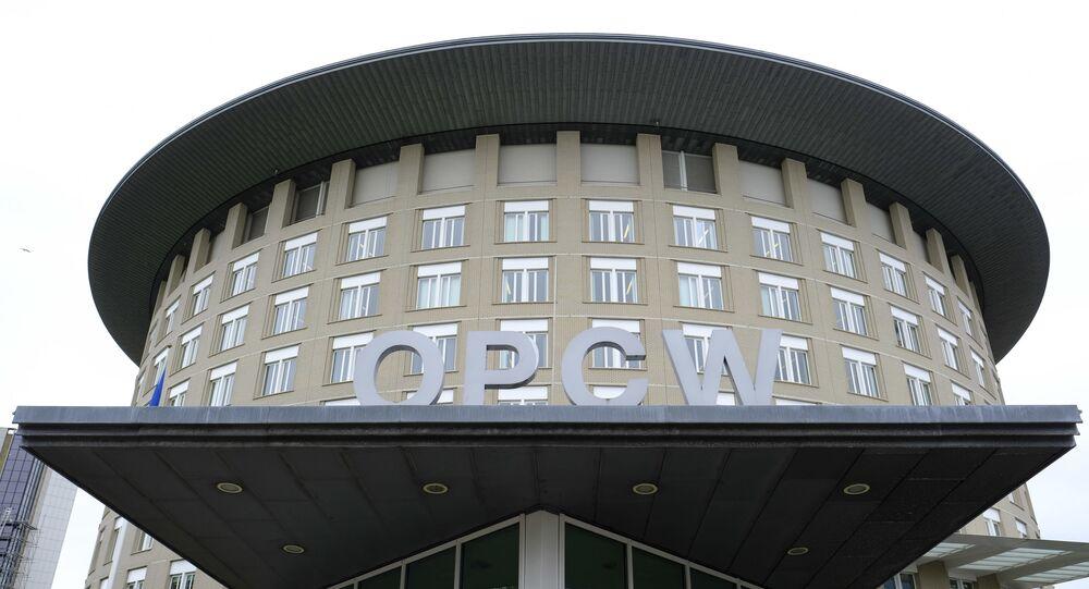Sede da Organização para a Proibição de Armas Químicas (OPAQ) , em Haia, nos Países Baixos