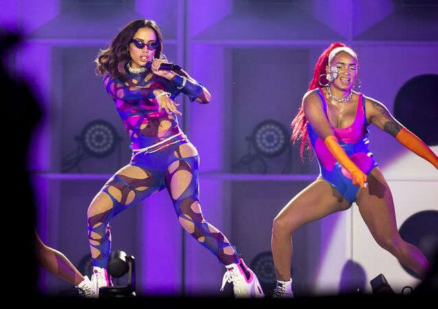 Show da cantora Anitta no palco Mundo, no penúltimo dia do festival Rock in Rio