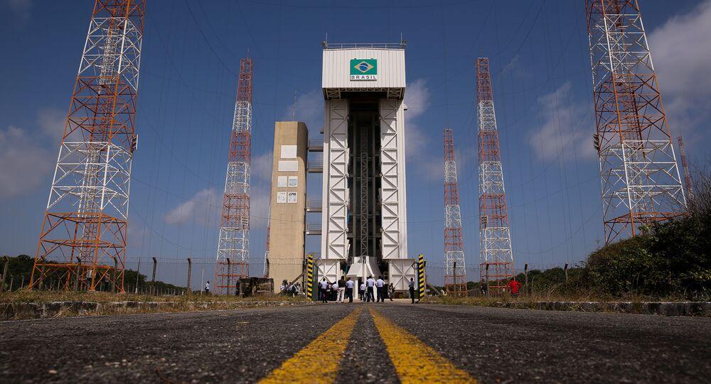 Estrutura do Centro de Lançamento de Alcântara, no Maranhão, onde situa-se a plataforma de lançamento de foguetes