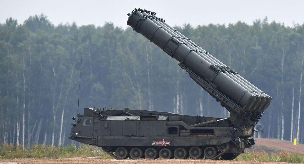 Sistema de Defesa Antimísseis S-300V (foto de arquivo)