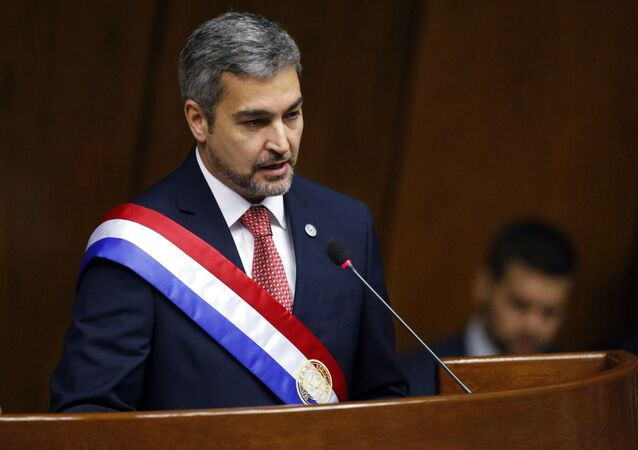 Mario Abdo Benítez, presidente do Paraguai