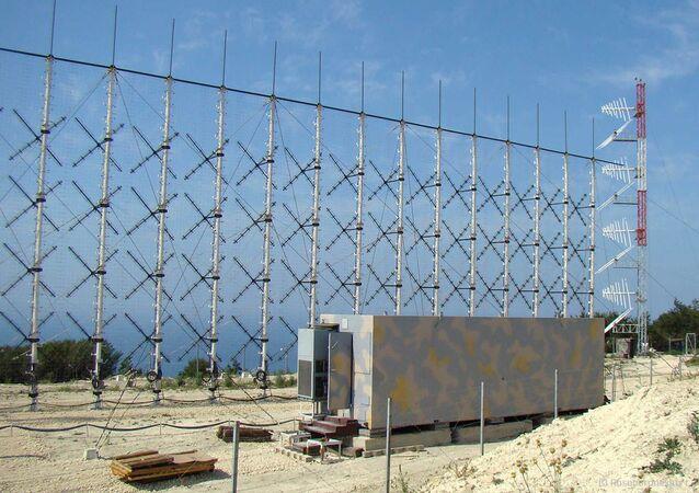 Estação de radar de longo alcance Rezonans-N para detecção de alvos aéreos furtivos (imagem de arquivo)