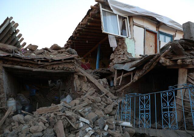 Consequências do terremoto na província turca de Elazig